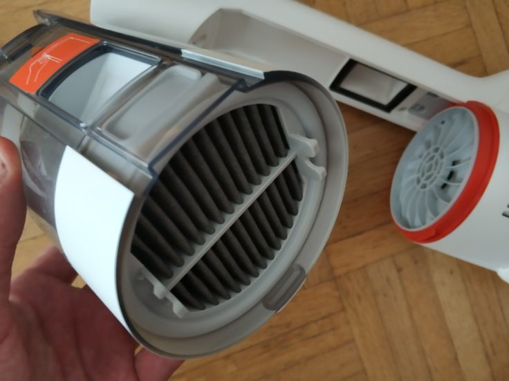 Roidmi F8 Akkustaubsauger HEPA-Filter