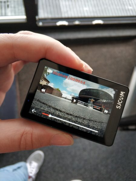 SJCAM SJ8 Pro Display