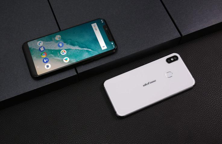 Ulefone X Front- und Rückseite