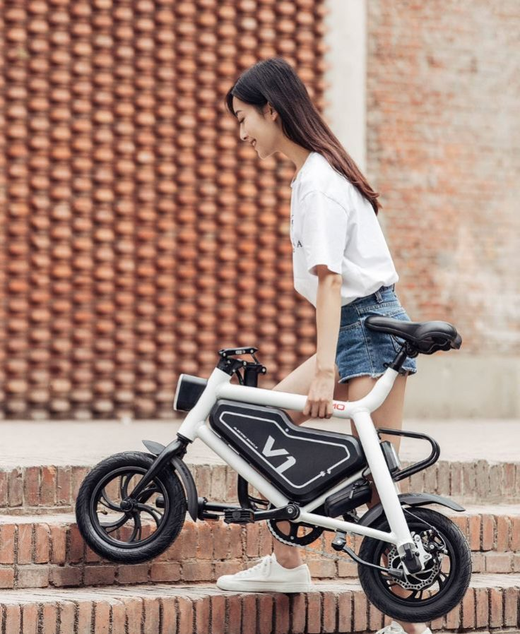 Xiaomi HIMO Elektrofahrrad Transport
