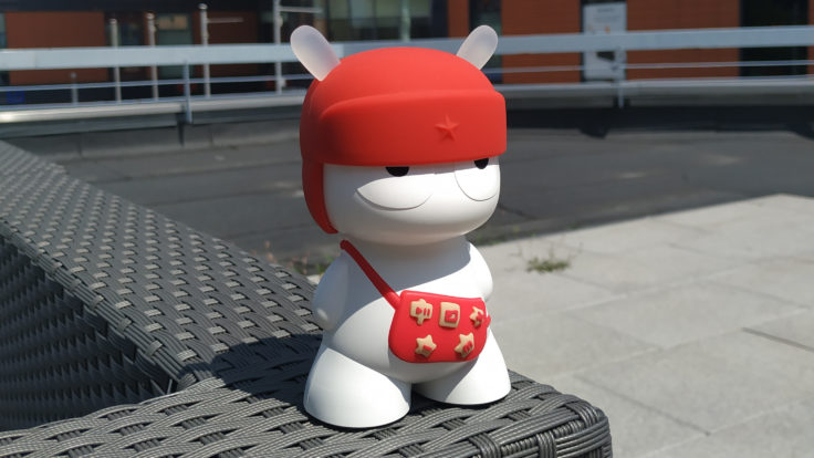 Xiaomi Mi 6X Testfoto Mi Rabbit breit