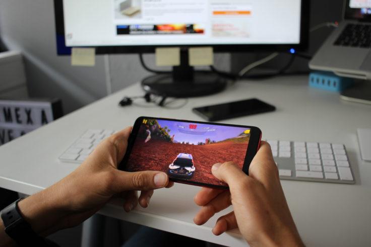 Xiaomi Mi 6X Zocken