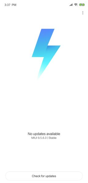 Xiaomi Mi 8 MIUI 9.5