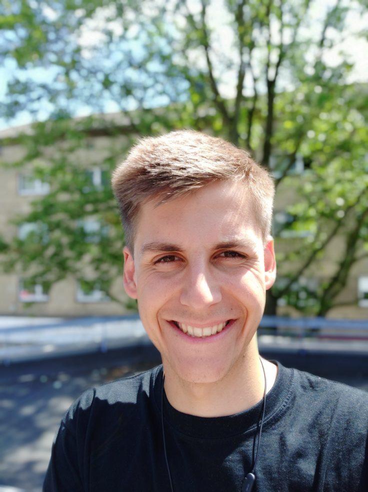 Xiaomi Mi 8 Testfoto Selfie Portrait