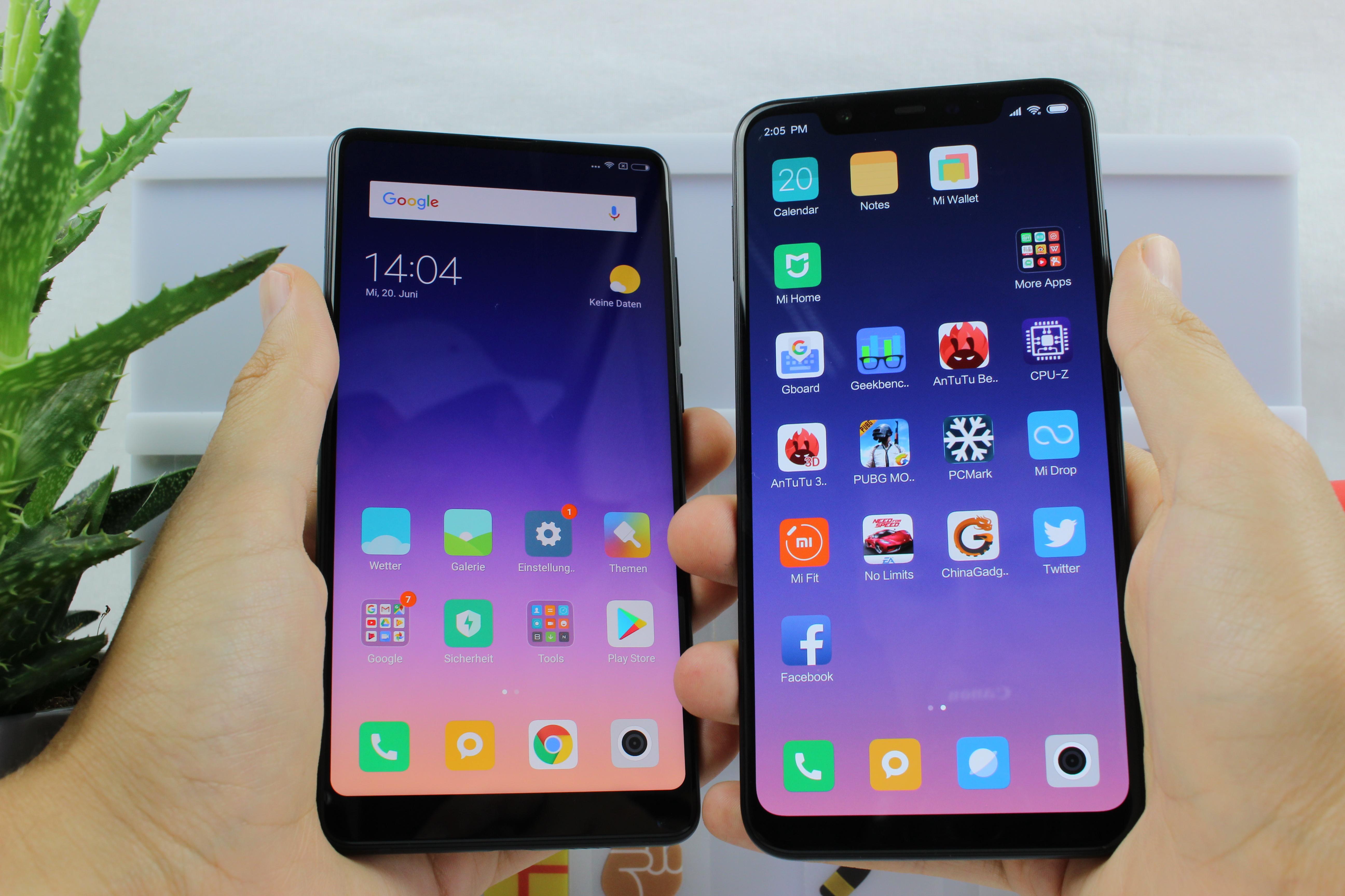 Xiaomi Mi 8: Xiaomi Flagship-Smartphone mit AMOLED-Display im Test