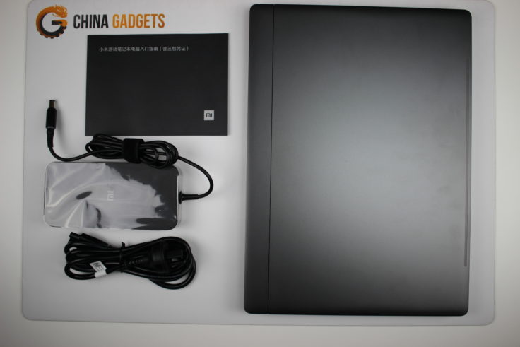 Xiaomi Mi Gaming Notebook Lieferumfang