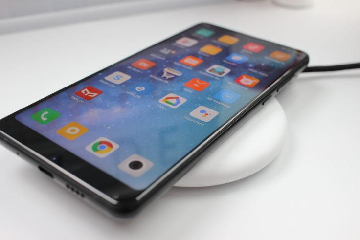 Xiaomi Qi-Ladegerät mit Mix 2S