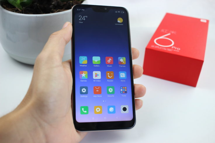 Xiaomi Redmi 6 Pro Handling