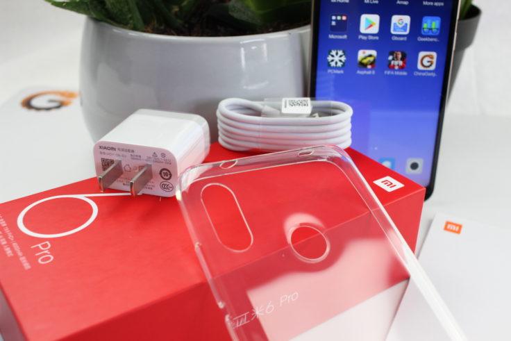 Xiaomi Redmi 6 Pro Lieferumfang