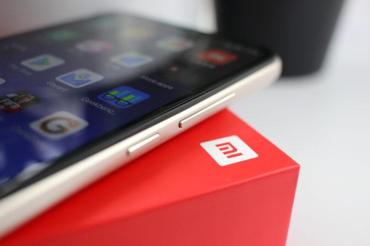 Xiaomi Redmi 6 Pro Tasten