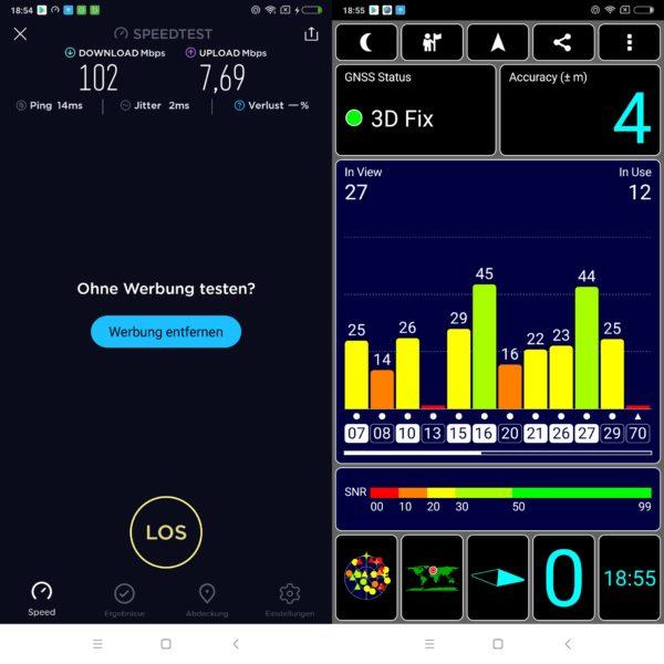 Xiaomi Redmi Note 5 WLAN GPS