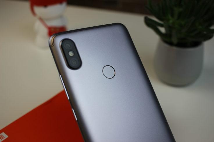 Xiaomi Redmi S2 Smartphone Fingerabdruckscanner