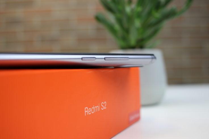 Xiaomi Redmi S2 Smartphone Lautstärke Tasten