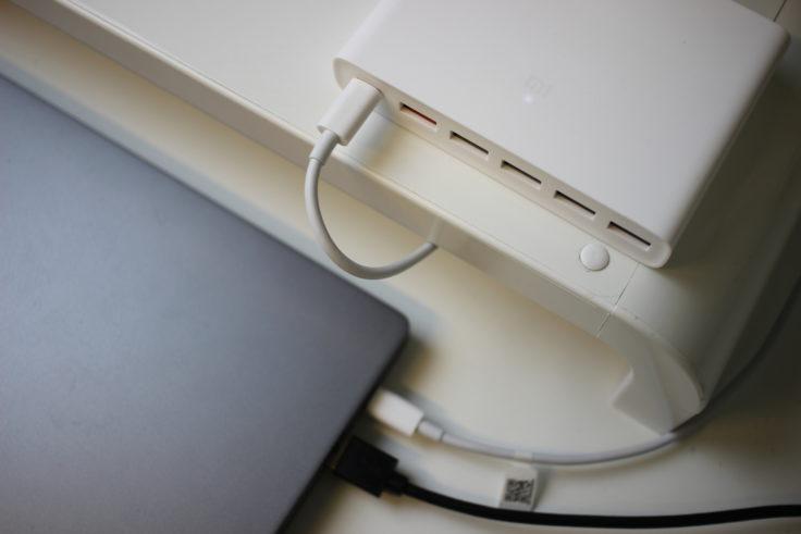 Xiaomi USB Hub mit Xiaomi Mi Notebook