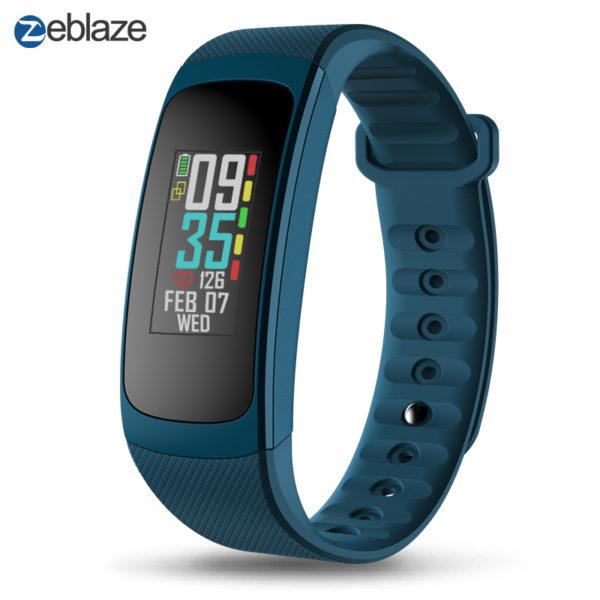 Zeblaze Plug C Fitness Tracker Blau