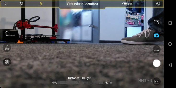 Zerotech Hesper FlightGo App Screenshot