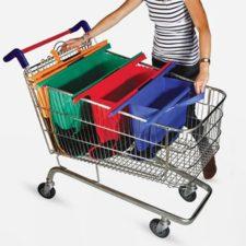 4 in 1 Einkaufstasche Einkaufswagen
