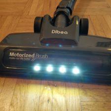 Dibea D18 Akkustaubsauger LED-Leuchten