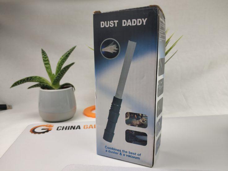 Dust Daddy Staubsauger-Aufsatz Verpackung