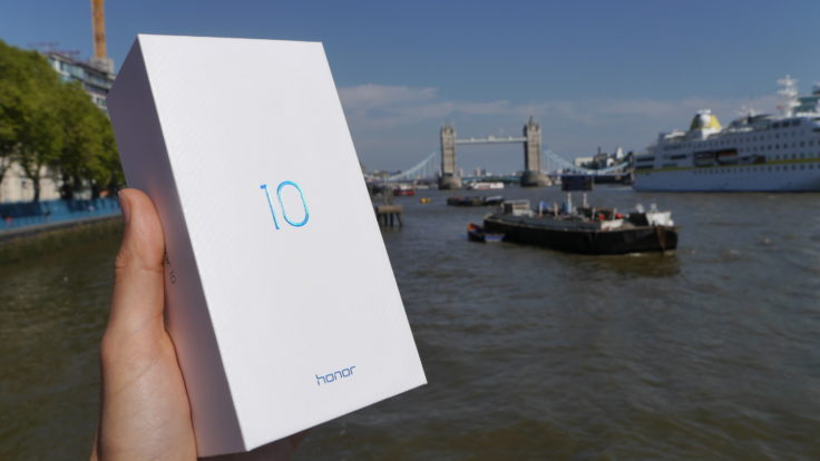 Honor 10 Box London