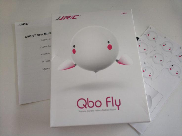 JJRC Qbofly Helium Ballon Verpackung