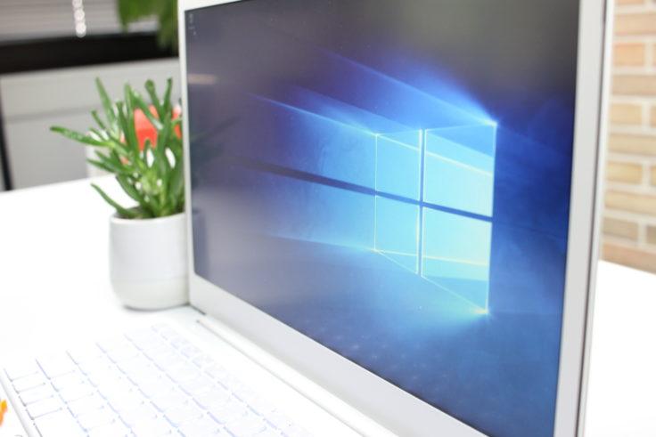 Jumper EZBook X4 Laptop Blickwinkelstabilität horizontal