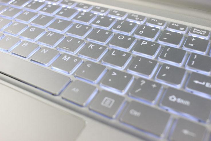 Jumper EZBook X4 Tastatur beleuchtet