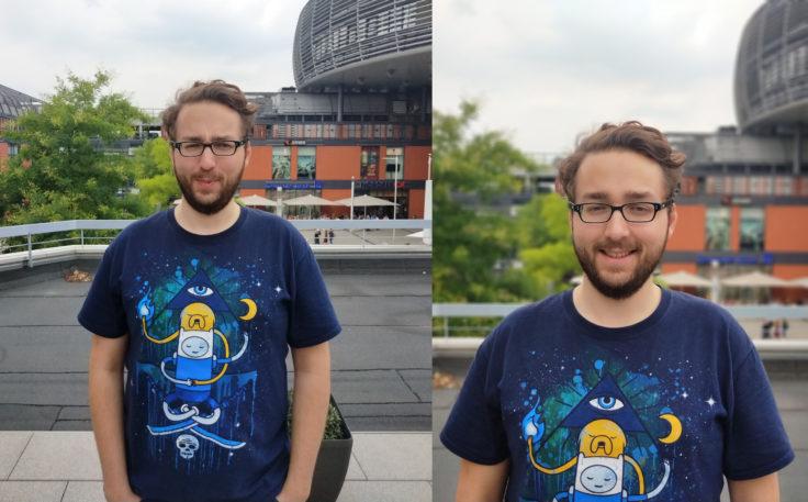 Meizu 15 Testfoto Kamera Vergleich Normal vs Kamera