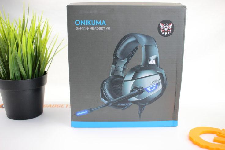Orikuma K5 Gaming Headset Verpackung