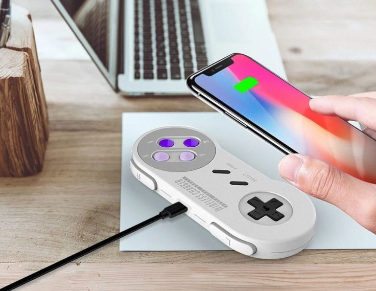 SNES Qi Charger von Aknes
