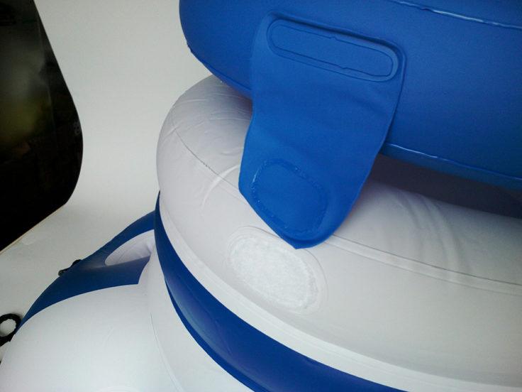 Schwimmende Minibar Klettverschluss