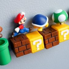 Super Mario Magnet-Set Sammlung