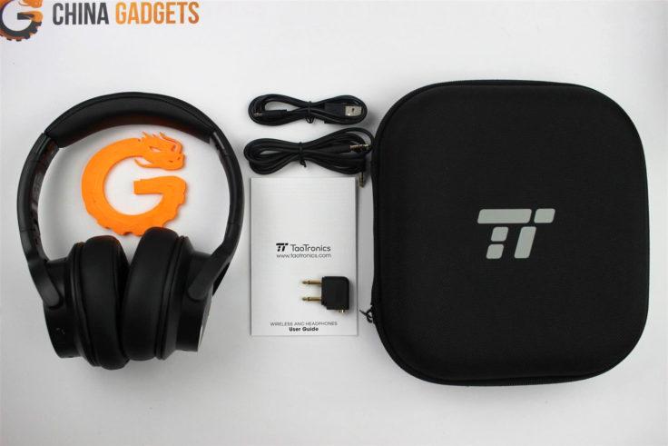 TaoTronics TT-BH40 ANC Over-Ear Lieferumfang
