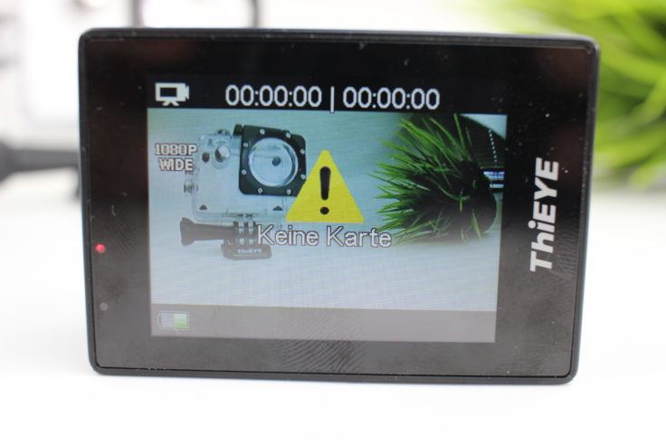ThiEYE i30+ Actioncam Display