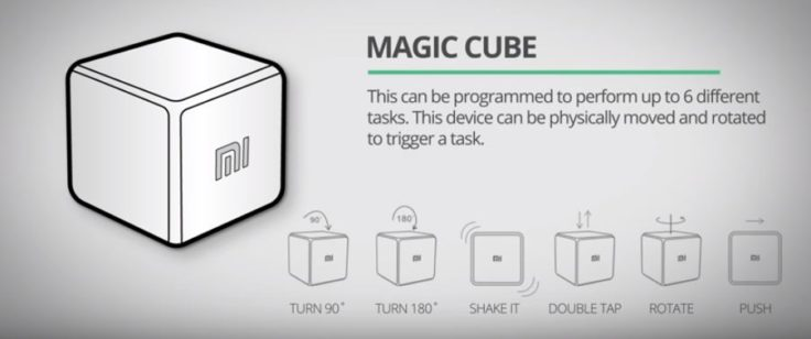 Xiaomi Aqara Magic Cube Funktionen