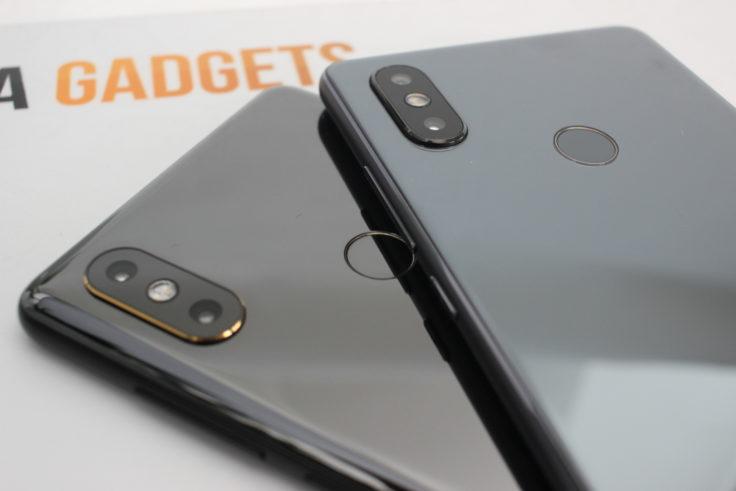 Xiaomi Mi 8 SE Handling Vergleich Mix 2S