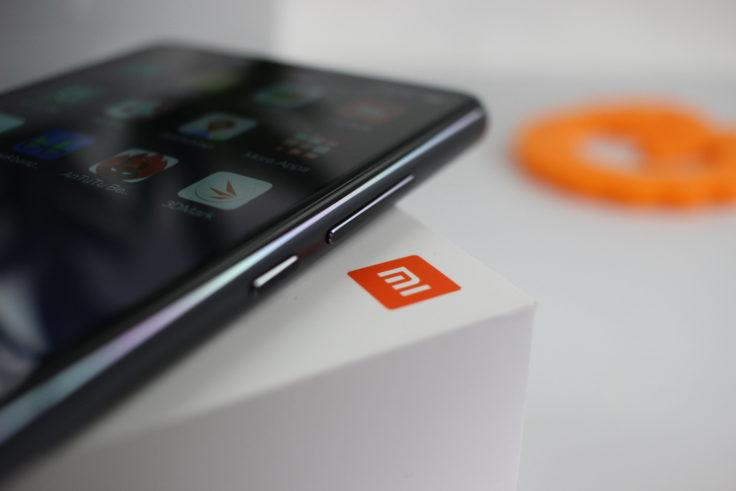 Xiaomi Mi 8 SE Tasten