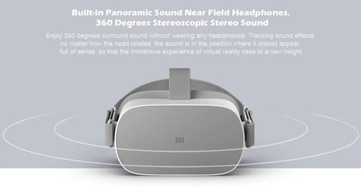 Xiaomi Mi VR Standalone VR-Brille Sound
