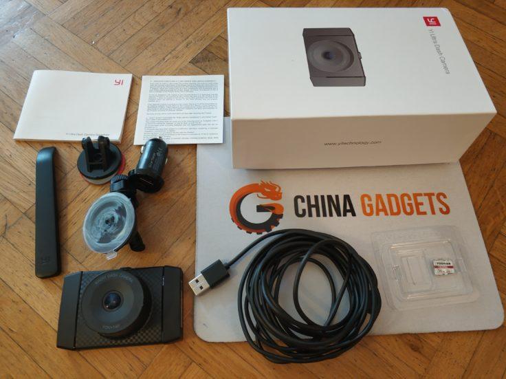 YI Ultra Dashcam Lieferumfang