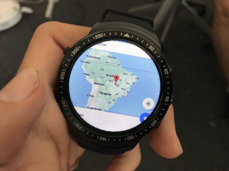 Zeblaze Thor Pro Smartwatch Navigation