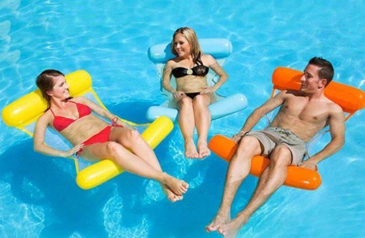 Faltbare Wasser-Hängematte Pool