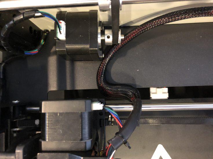 Tronxy C5 3D-Drucker Hotend Kabel