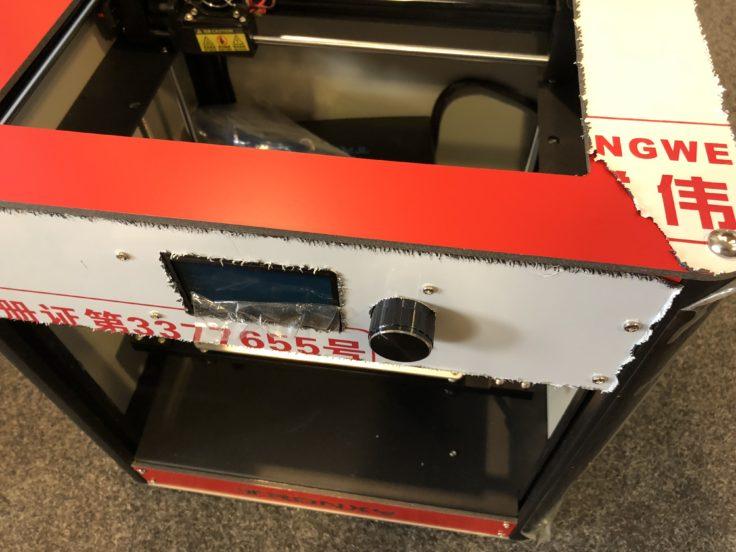 Tronxy C5 3D-Drucker Folie entfernen