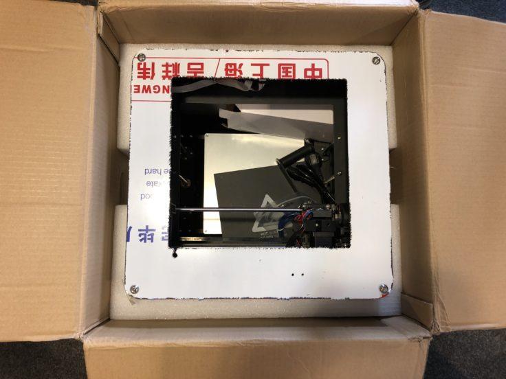 Tronxy C5 3D-Drucker Verpackung