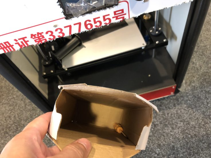 Tronxy C5 3D-Drucker Zubehörkarton