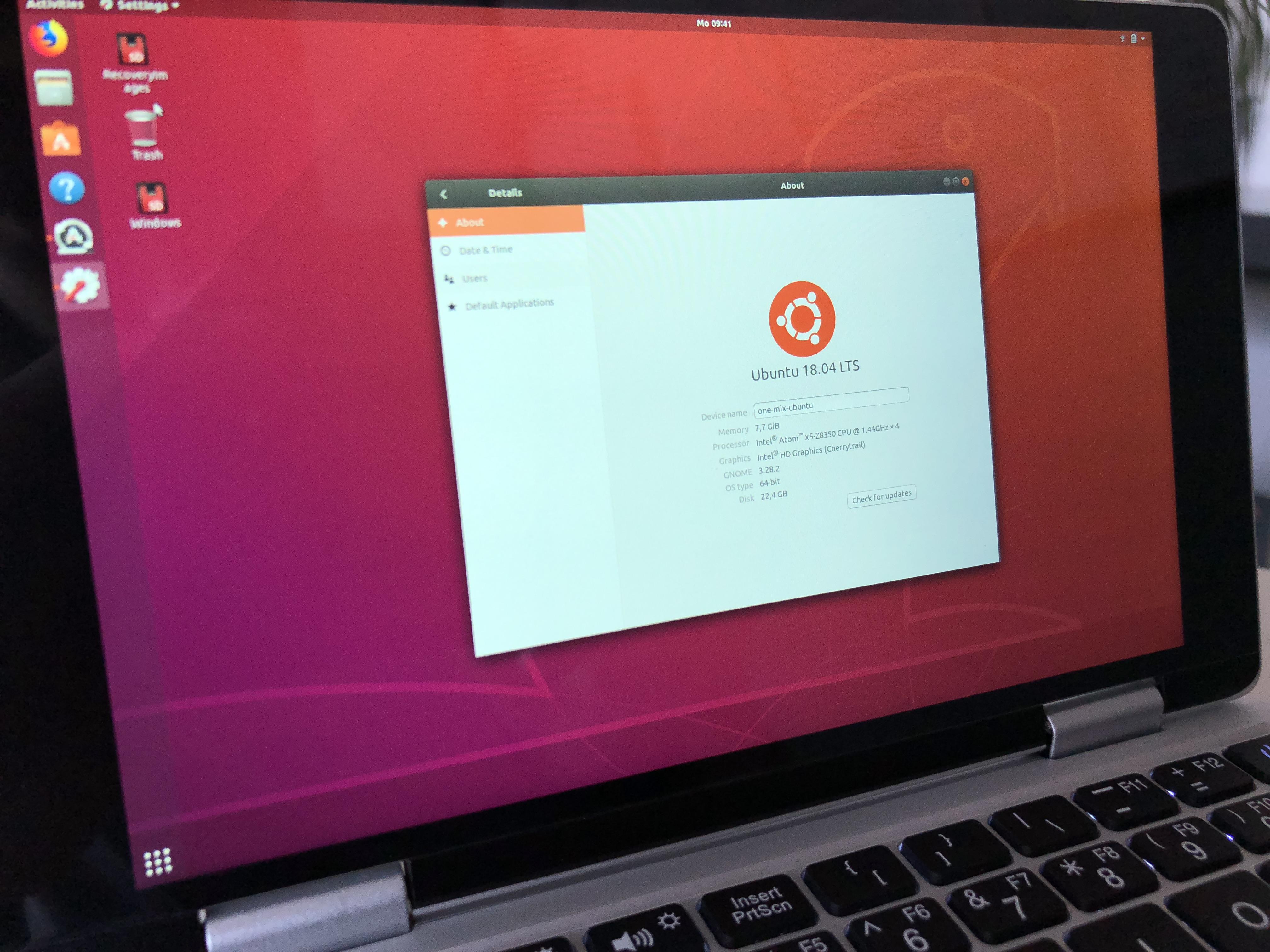 One Mix Yoga 2 Linux | Wajiyoga co