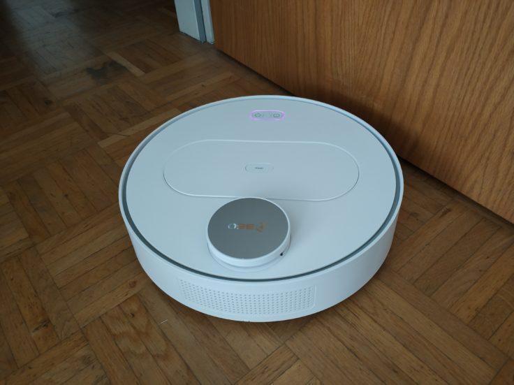 360 S6 Sweeping Robot Saugroboter Scanvorgang