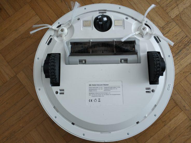 360 S6 Sweeping Robot Saugroboter Unterseite