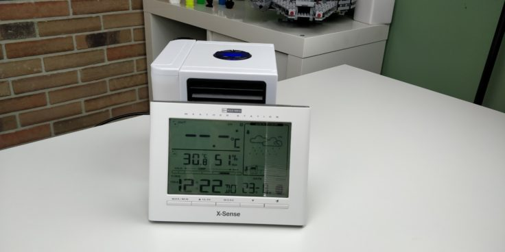 Antarctic Air Tisch Klimagerät nachher