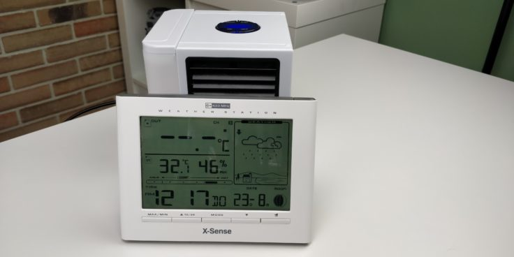 Antarctic Air Tisch Klimagerät vorher